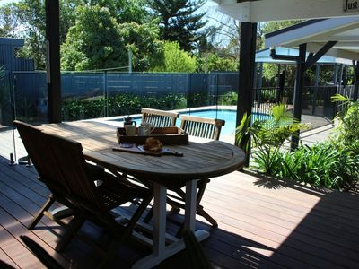 Relax on the Alfresco Deck