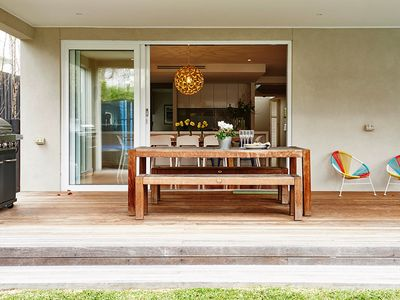 You'll love the luxurious indoor-outdoor living areas