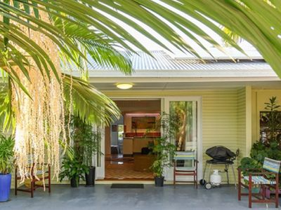 Pandanus House Front Entry
