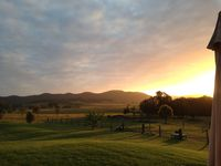 Beautiful sunset at Edenview