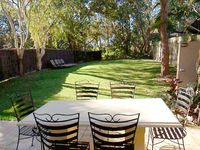 Rear garden dinning and BBQ area