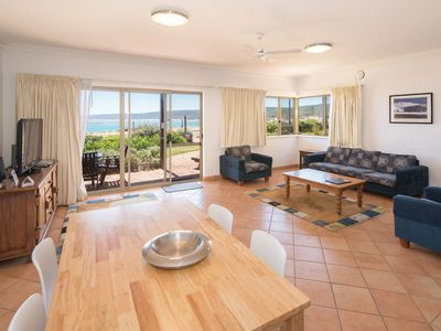 Stunning ocean views from your living area