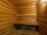 Relax in the Sauna after a swim on Level 10: open daily from 6am until 10pm