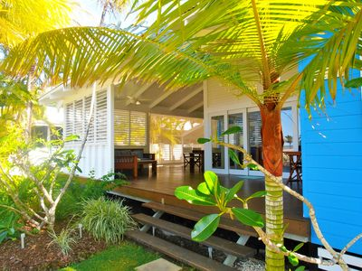 Wide open verandah to enjoy the tropics