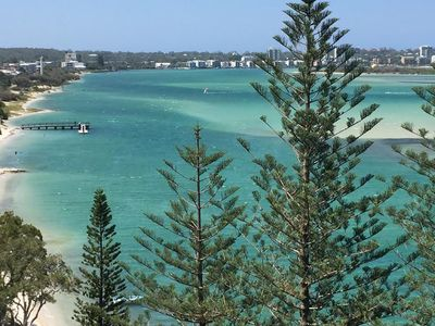 View from balcony towards Caloundra