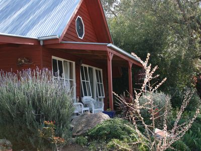 Exterior view of lovely Vaila Cottage