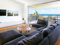 Large Open Plan Living Room with Ocean Views