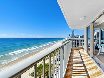 View south towards Surfers Paradise from the balcony