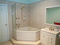 Bathroom with spa in the 3 bedroom apartment