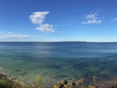 Jervis Bay from viewing platform at Blenheim Beach