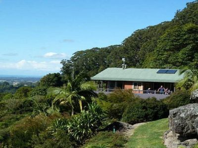 The cottage is privately placed amongst native gardens and has great views.