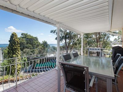 1 Kerrie Close Nelson Bay - three bedroom house in Nelson Bay with beautiful wat