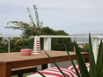 Anglesea Beach House view from deck