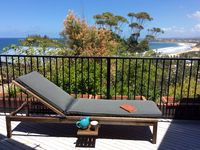Daybed on deck