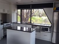 Spacious modern kitchen that is fully appointed