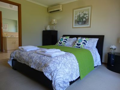 Main bedroom with two way ensuite