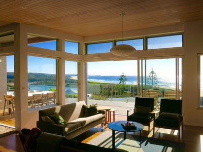 Views to Beach and Ocean from the house. Best position in Dalmeny .