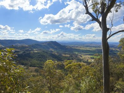 View to Barrington Tops from the Verandah