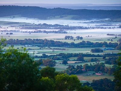 Looking towards Jervis Bay from Mullengrove Cottage
