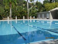 Free use to our guests 8 lame lap pool located in Health Club