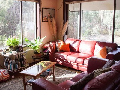 enjoy the morning sun in the lounge room