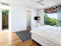 Studio King Bedroom with Ensuite, Kitchenette, Laundry and Private Deck