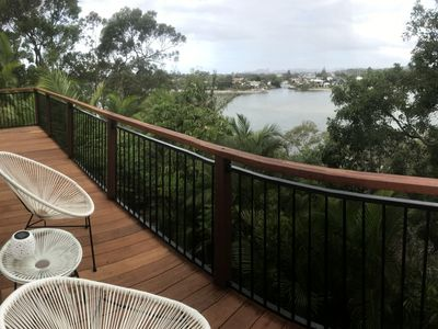 Lovely view of Tallebudgera Creek/ your private beach