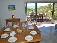 Dinning area in one the beach houses