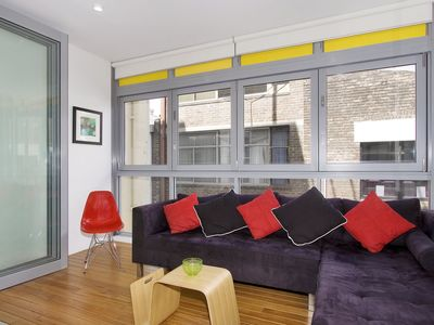 Living Space with New York Laneway Feel
