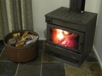 Warming Wood Fire