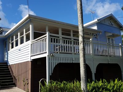 Entry and front verandah