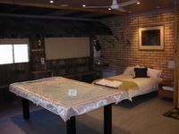 Games room can be changed to another bedroom