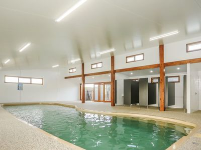 12m Heated indoor swimming pool