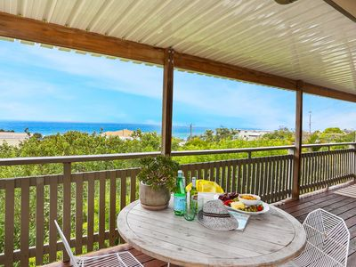 Relax on your private verandah and enjoy the view