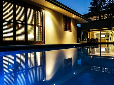 Night swims in your own private pool at The Byron Beach House