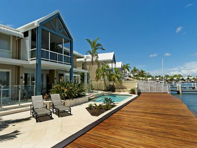 Exquisite Harbour Front Villa