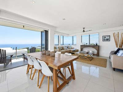 Open Plan Living and Dining with Stunning Views