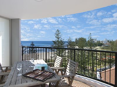 Calypso Tower Unit 807 - 3 bedroom unit on the beachfront in Coolangatta