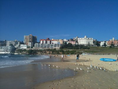 Bondi Beach, 15 mins walk