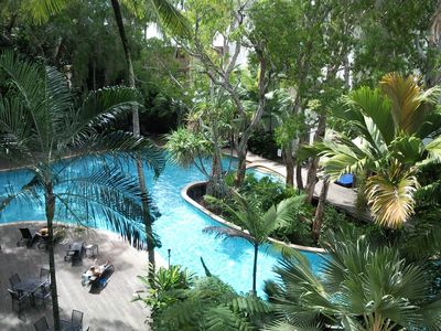 The most beautiful pool in Palm Cove