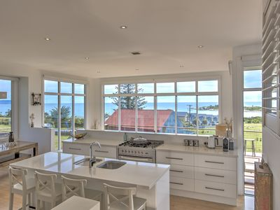 Open Plan Kitchen, Lounge and Dining all with Ocean Views