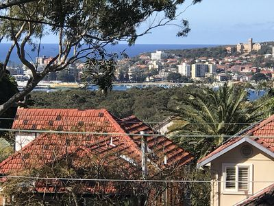 View to east - Manly Wharf and St Patricks Estate