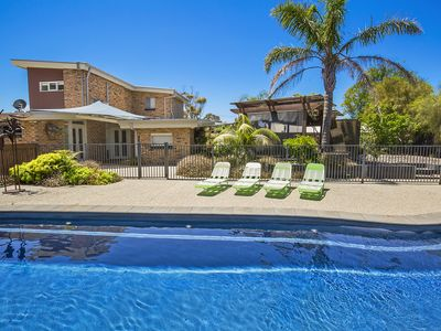 resort style pool - 12m, heated, fully landscaped