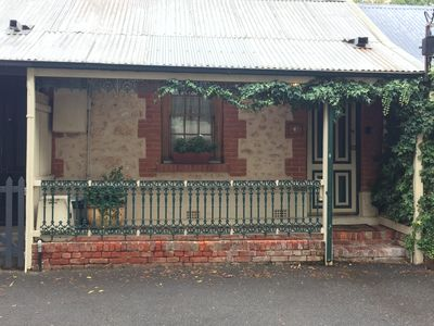 A historic miner's cottage in the heart of cosmopolitan North Adelaide