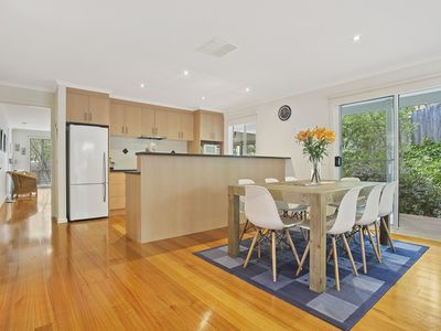 Dining area, open plan living