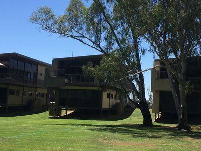 Front of house from Murray River