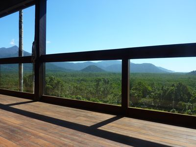 Mountain & Ocean Views from Daintree Holiday Homes - La Vista