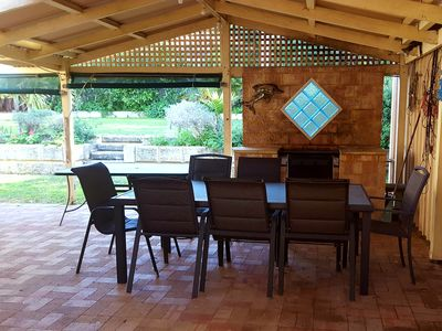 Entertaining Area with BBQ