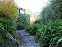 Garden path leading to cottage