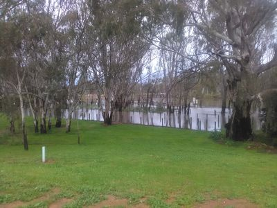 Waterfront and boat ramp